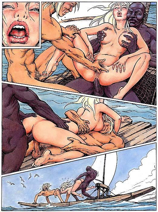 порно комикс эро