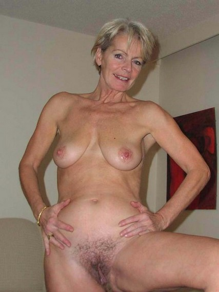 Hot blond milf fake tits