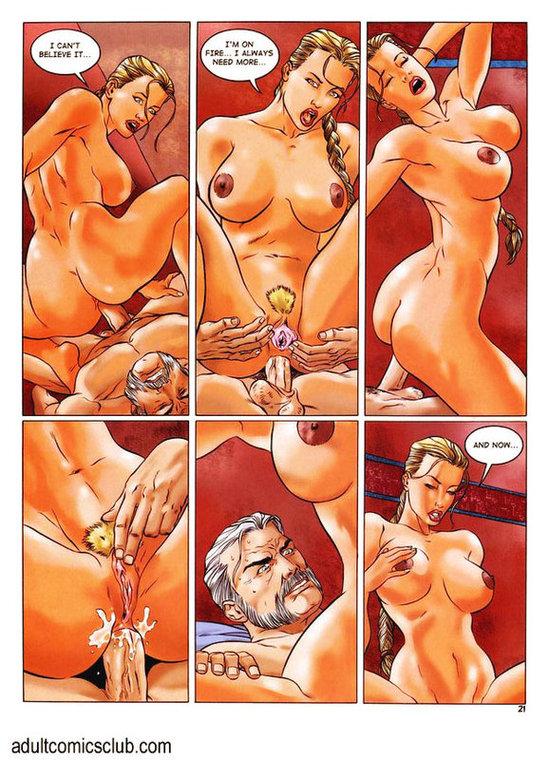 Секс комиксы лара крофт