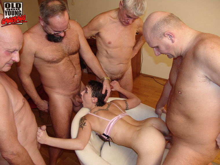 older women gang bang